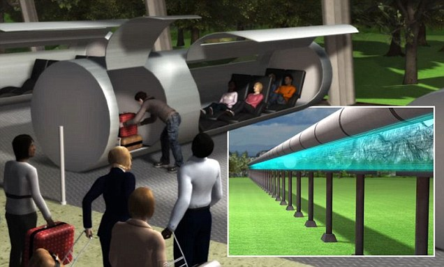 Evacuated Tube Transport could take you around the world ...