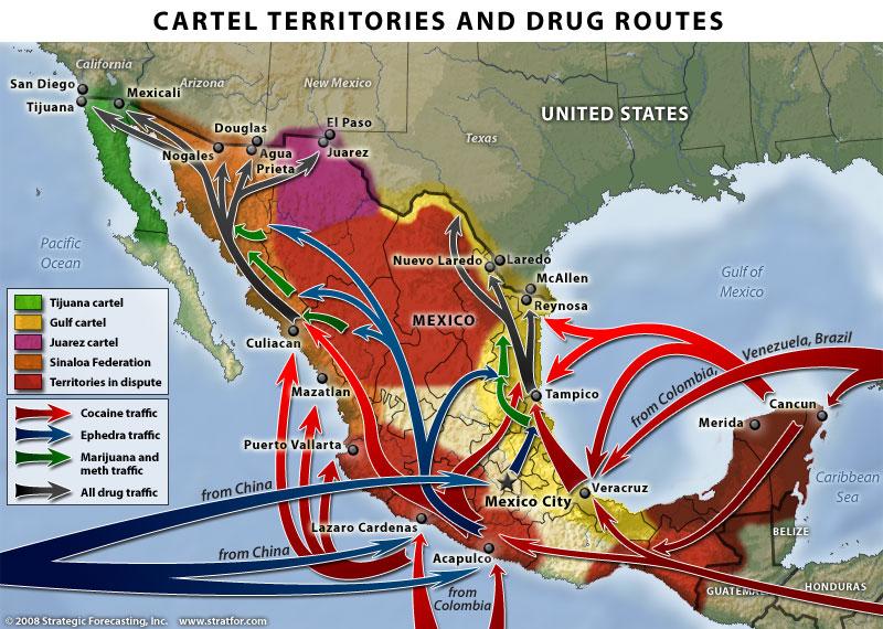 STRATFOR-Mexican-drug-cartels-map