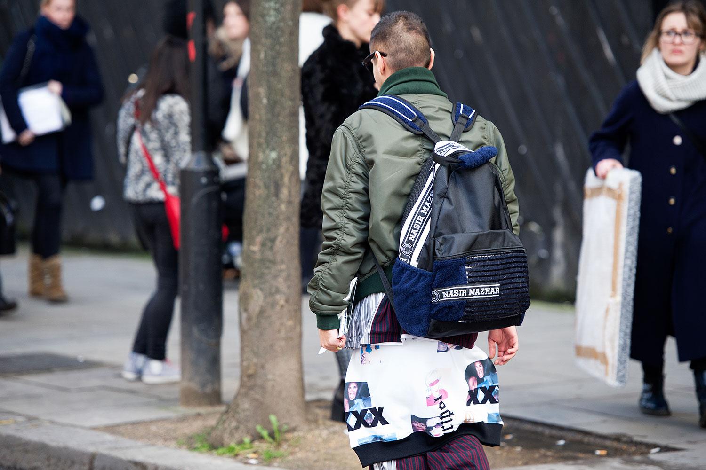 London Fashion Week Fall Winter 2014 Street Style