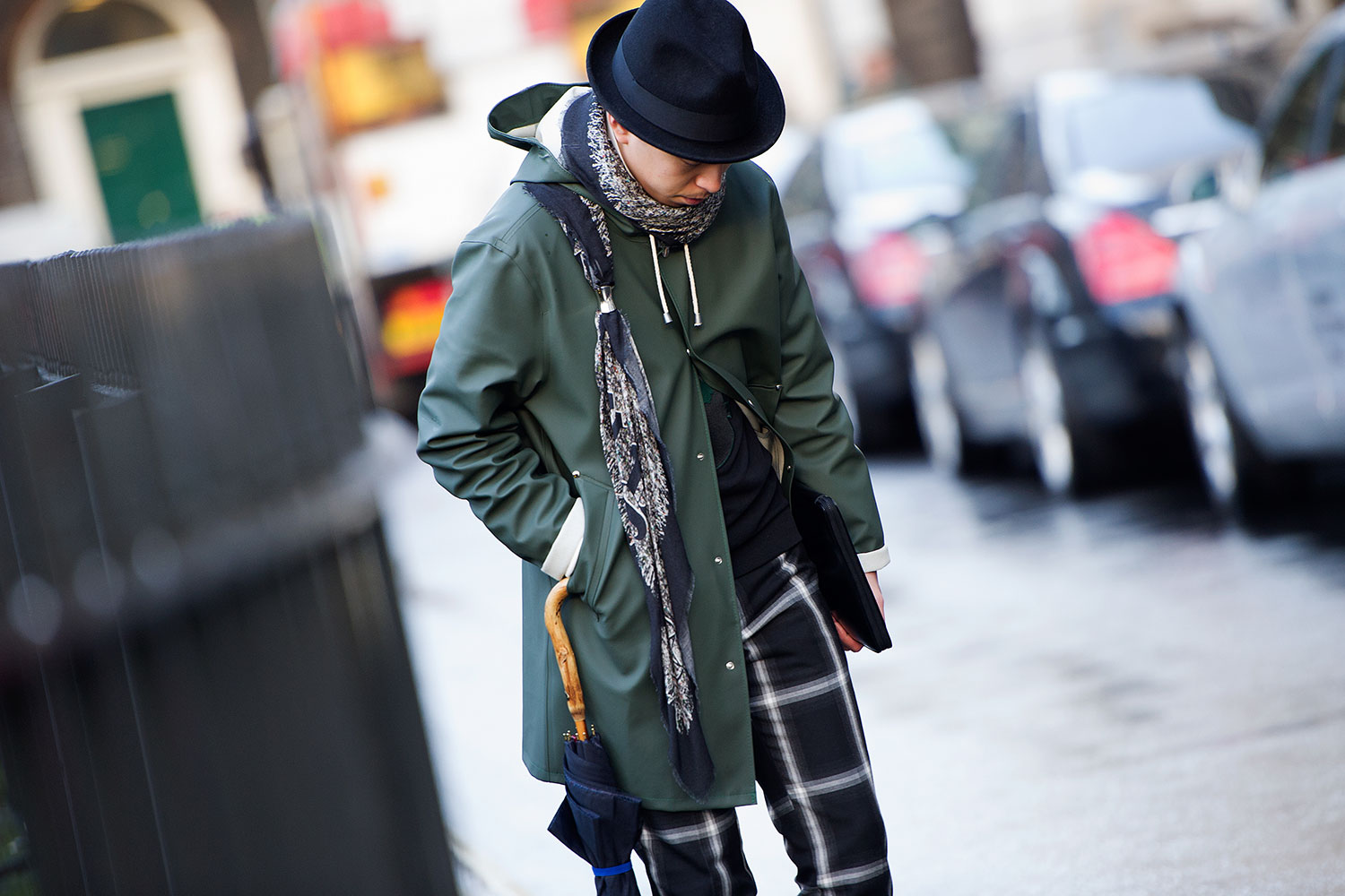 London Fashion Week Fall Winter 2014 Street Style