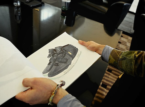nate-vanhook-nike-air-yeezy-2-sketch