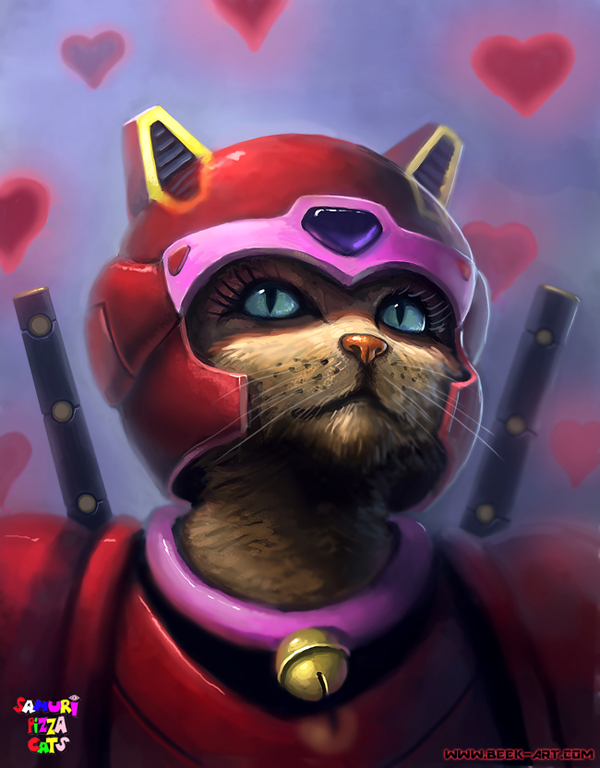 Realistic Samurai Pizza Cats Tuhinternational