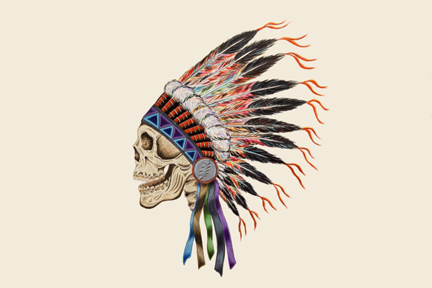 Wes Lang X Warrior Skull Print Tuhinternational
